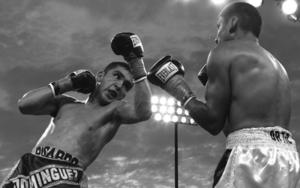 Deux boxeurs sur un ring