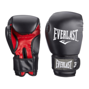 Gants de boxe Everlast Rodney roug et noir